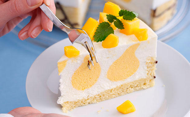 Buttermilch Mango Torte Rezept Gusto At