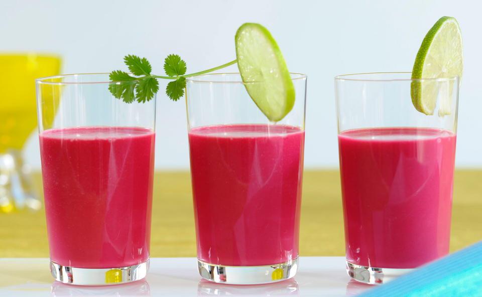 Bildergebnis für rote bete limette smoothie