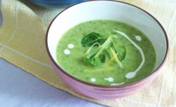 Spinat-Sellerie-Suppe