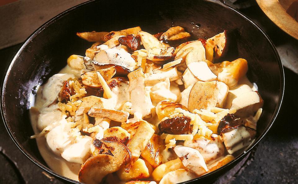 Steinpilz gnocchi rezept gusto at for Kochen passieren