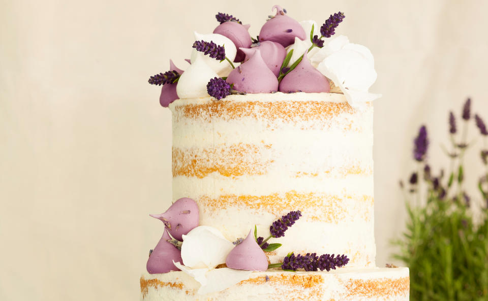 Lavendel Meringue Torte Rezept Gusto At