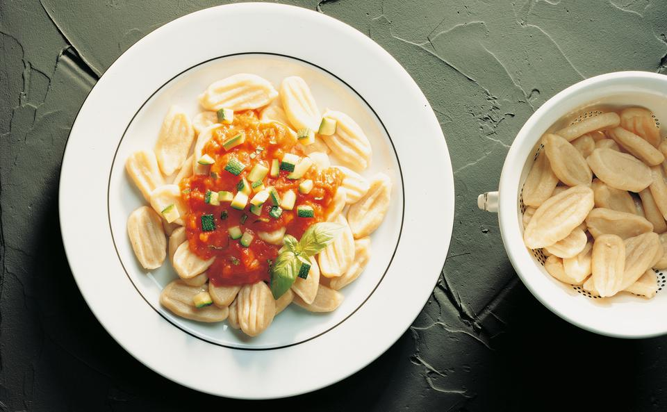 Rezept pasta mit zucchini sauce