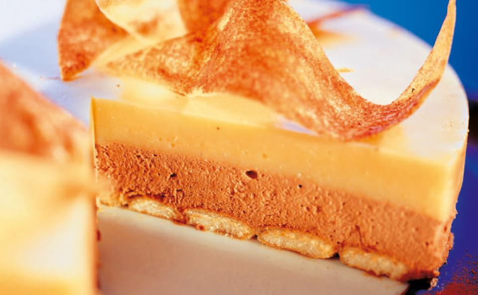 Baileys Torte Mit Orangen Bananen Gelee Rezept Gusto At