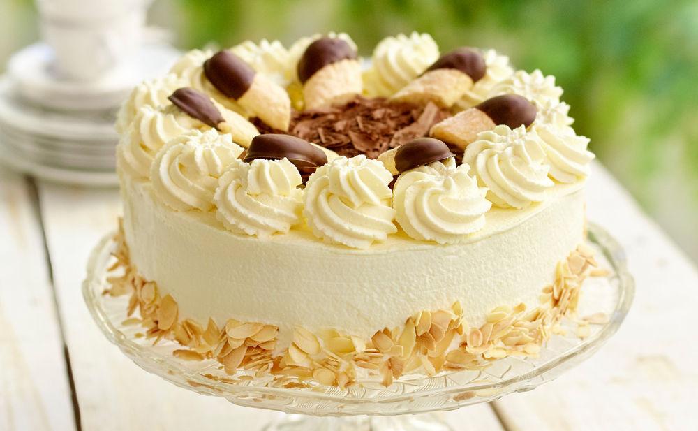 malakoff torte einfaches rezept